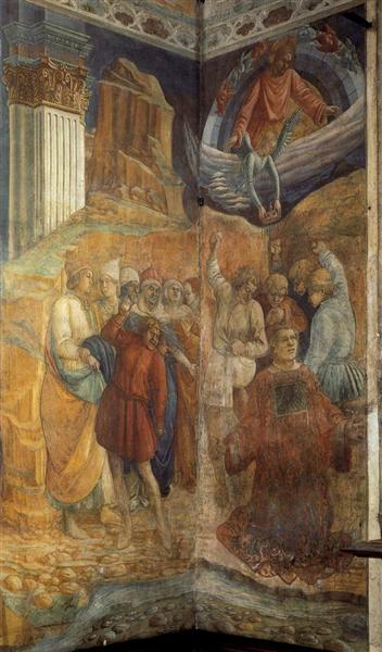The Martyrdom of St. Stephen - Filippo Lippi