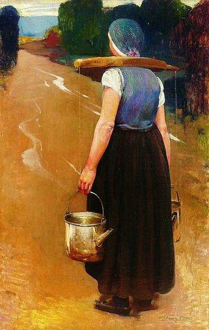 A Breton woman - Firmin Baes