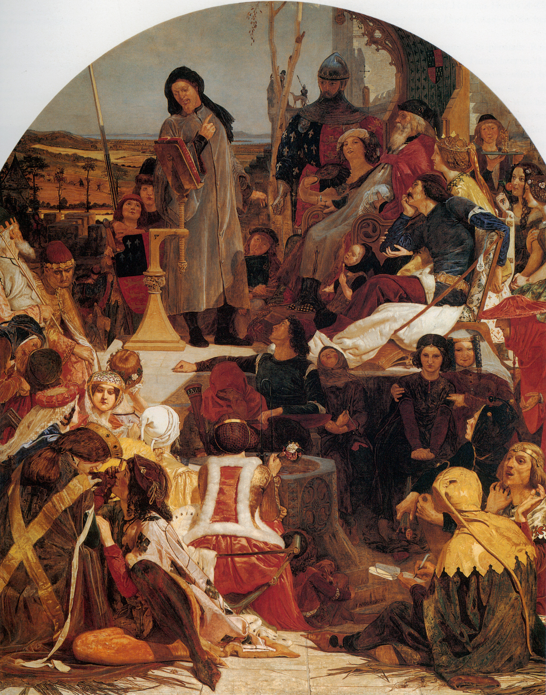 Chaucer at the Court of Edward III, 1847-1851
