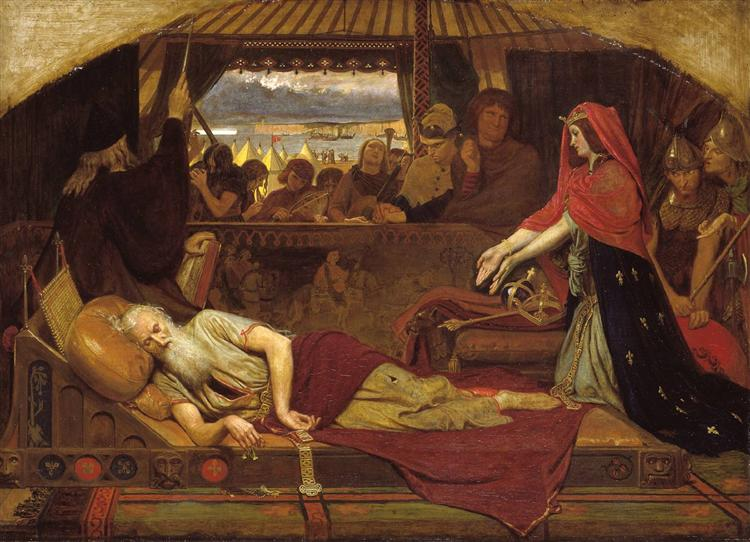 Lear and Cordelia, 1848 - Ford Madox Brown