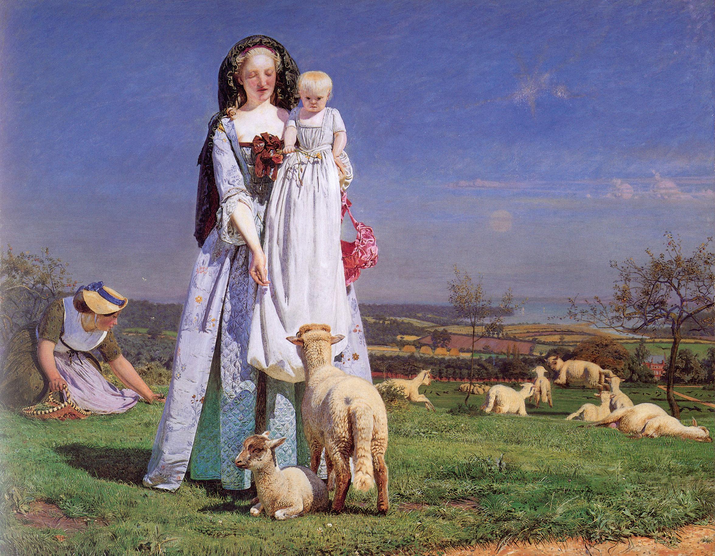Pretty Baa-Lambs, 1852
