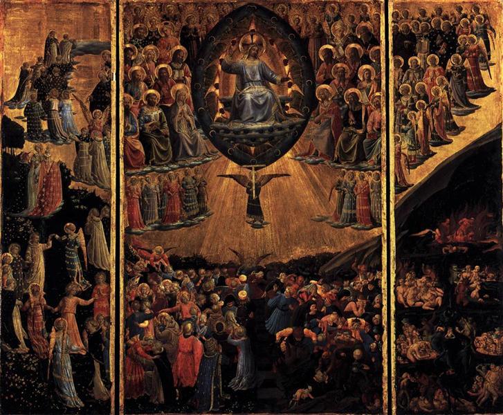Last Judgment, c.1450 - Fra Angelico