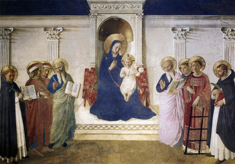 Sacred Conversation, 1443 - Fra Angelico