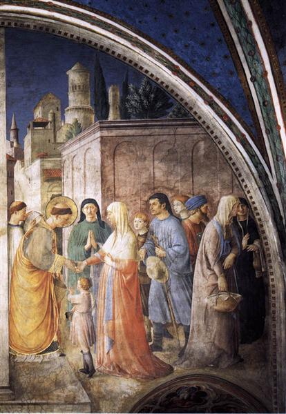 St. Stephen Distributing Alms, 1447 - 1449 - Fra Angelico