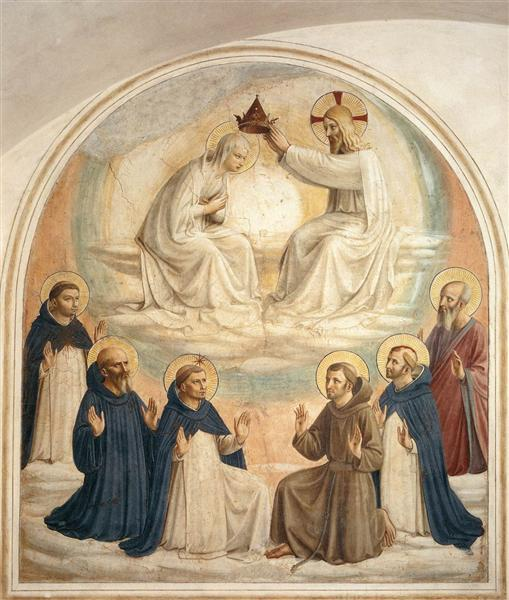 The Coronation of the Virgin, 1440 - 1441 - Fra Angelico