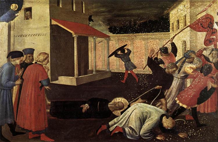 The Martyrdom of St. Mark, c.1433 - Fra Angelico