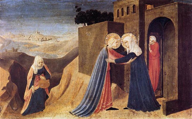 Visitation, 1433 - 1434 - Fra Angelico