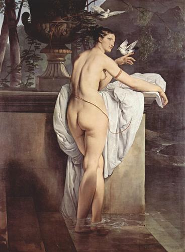 Ballerina Carlotta Chabert as Venus - Francesco Hayez