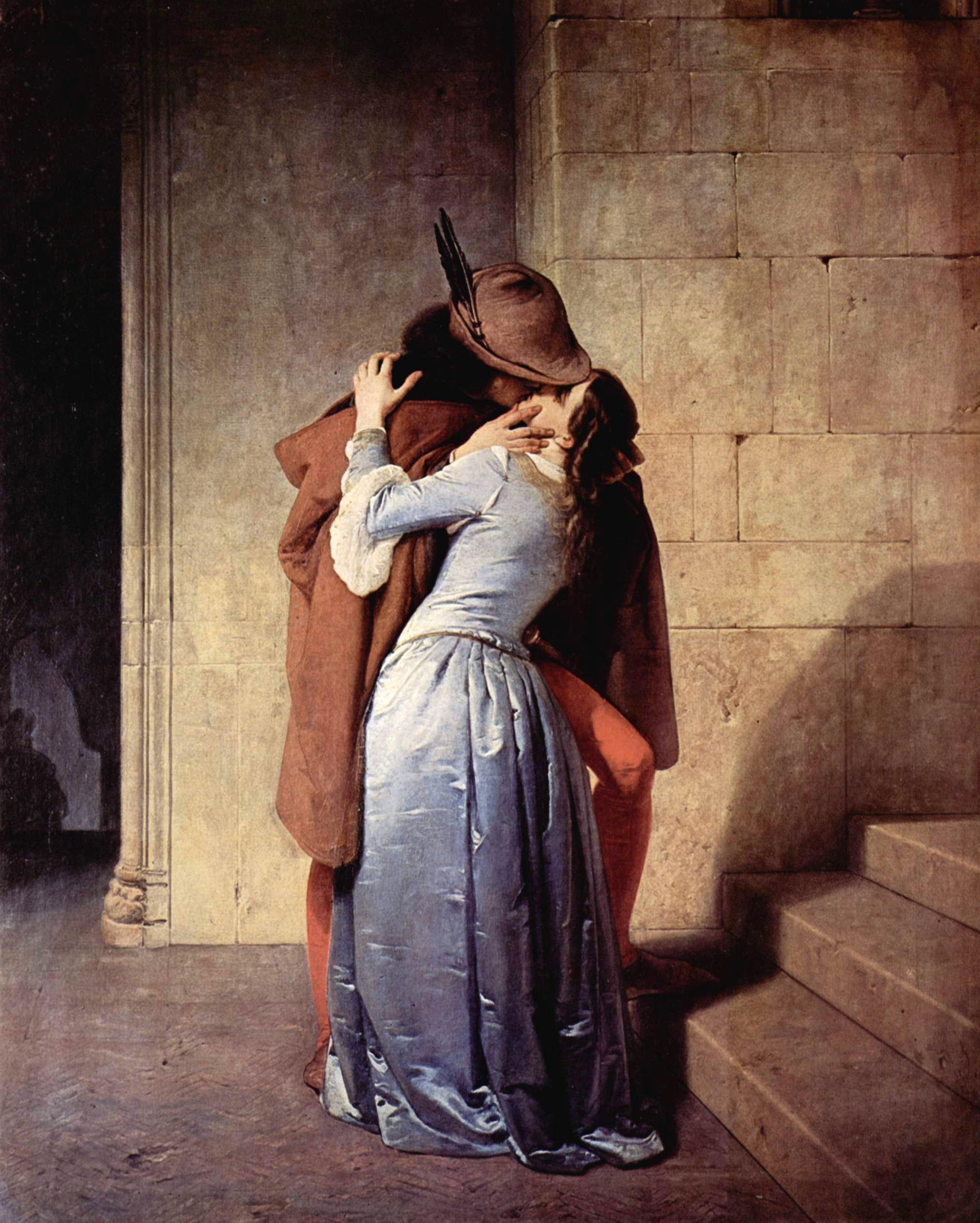 Francesco Hayez - Page 3 The-kiss-1859
