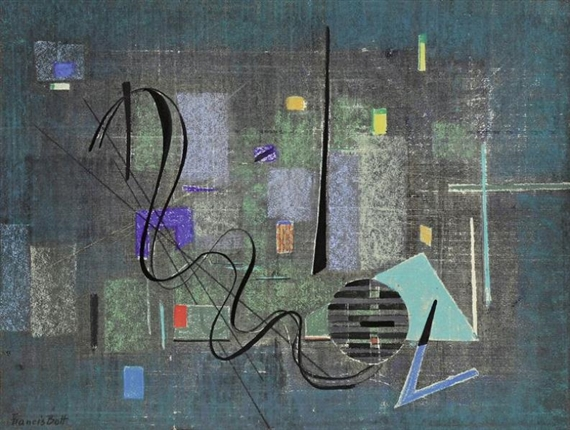 Abstraction, 1951 - Francis Bott