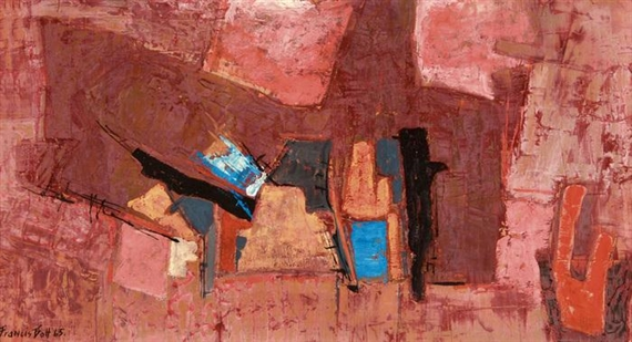 Composition, 1965 - Francis Bott