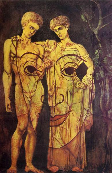 Adam and Eve, c.1931 - Francis Picabia