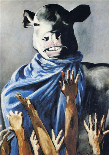 Calf worship - Francis Picabia