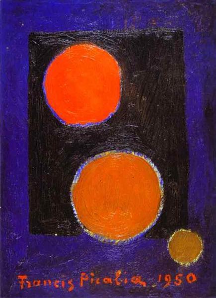 Encirclement, 1950 - Francis Picabia