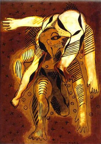 The Acrobates - Francis Picabia