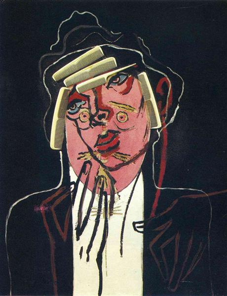 The beautiful butcher - Francis Picabia