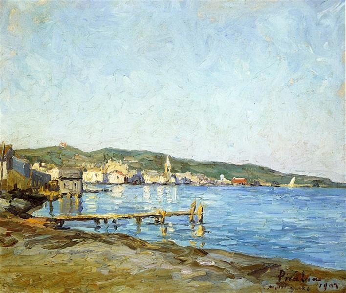 The Port at Martigues, 1903 - Francis Picabia