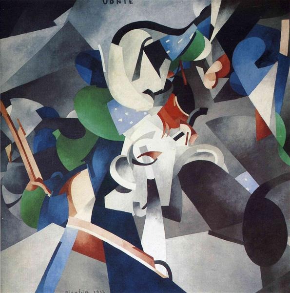 Udnie, Young American Girl, 1913 - Francis Picabia