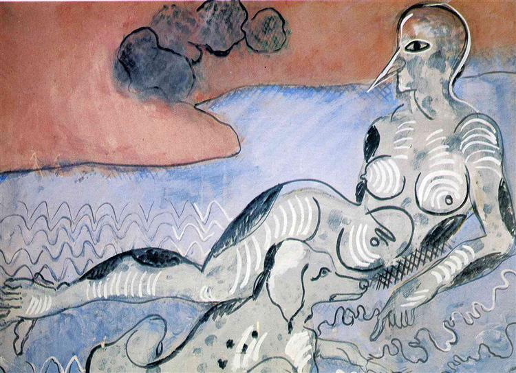 Woman with a Dog, 1924 - 1926 - Francis Picabia