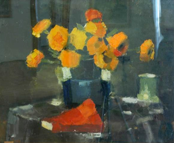 Yellow Flowers - Francisc Sirato