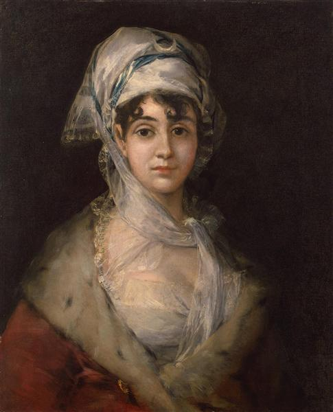 Actress Antonia Zarate, c.1810 - c.1811 - Francisco Goya