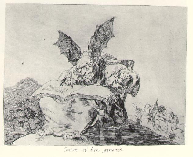 Against the common good, c.1810 - c.1815 - Francisco Goya