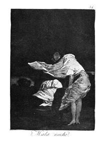 Brutta notte - Francisco Goya