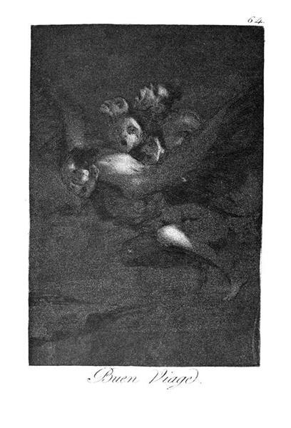 Farewell, 1799 - Francisco de Goya