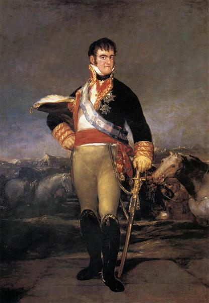 Ferdinand VII, c.1814 - Francisco Goya
