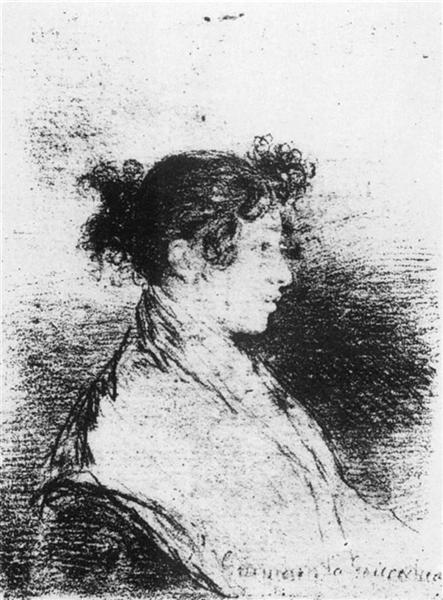 Gumersinda Goicoechea, Goya's Daughter in Law, 1815 - Francisco Goya