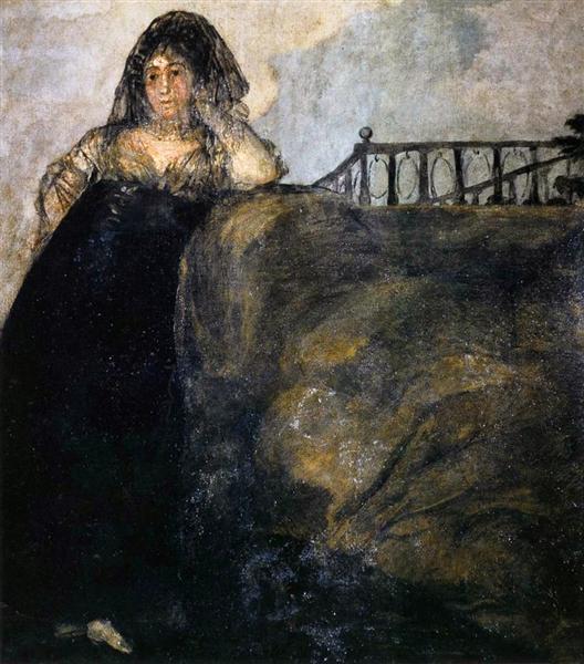 Leocadia, 1819 - 1823 - Francisco Goya