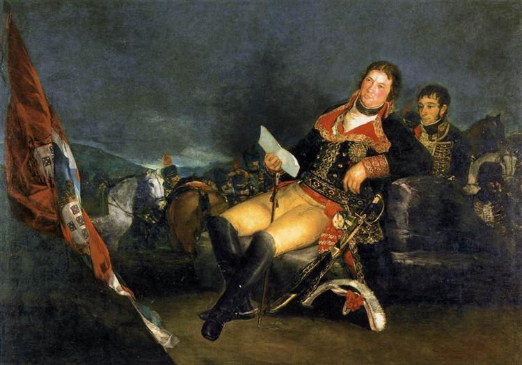 Manuel Godoy, Duke of Alcudia, 'Prince of Peace', 1801 - Francisco Goya
