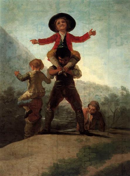 Playing at Giants, 1791 - 1792 - Francisco Goya