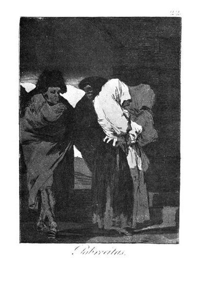 Poor little girls!, 1799 - Francisco Goya