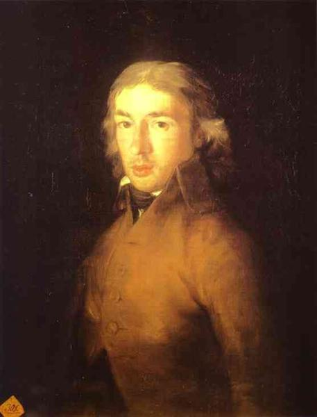 Portrait of Leandro Fernandez de Moratin, 1799 - Francisco Goya