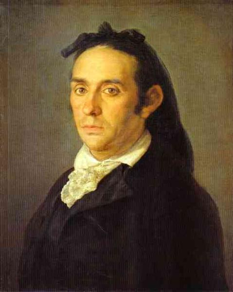 Portrait of the Bullfighter Pedro Romero - Francisco Goya