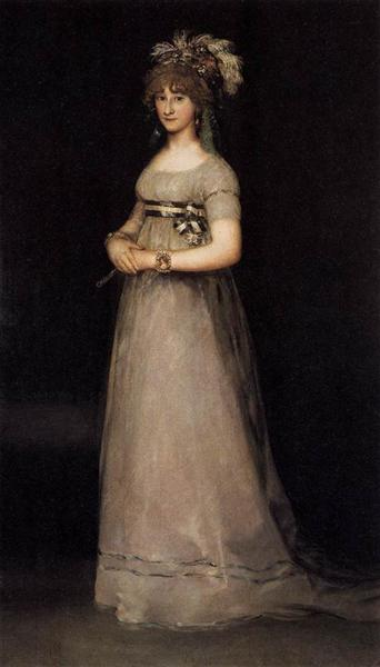 Portrait of the Countess of Chincon, 1797 - 1800 - Francisco Goya