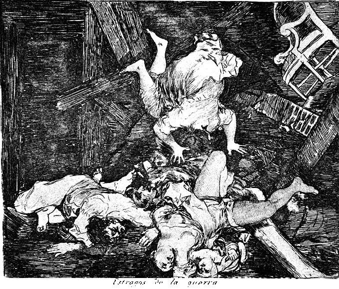 Ravages of war, 1810 - Francisco Goya