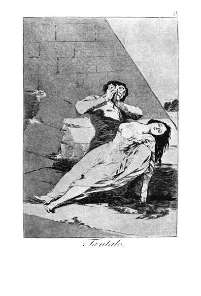 Tantalus, 1799 - Francisco Goya