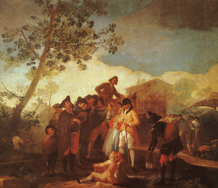the life of goya Biography of the life of the artist goya  francisco jose de goya y lucientes was born to jose benito de goya y franque and garcia de lucientes y salvador on march .