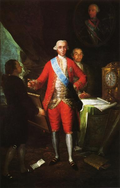 The Count of Floridablanca, 1783 - Francisco Goya
