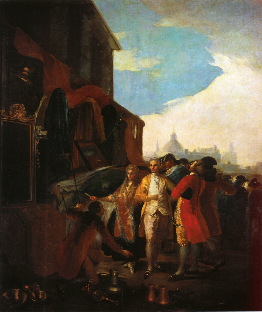 """francisco goya as representative of modern art essay Goya's late work: art and the essay, """"on francisco goya they are as dark as anything created in the history of art, and yet, they are so modern."""