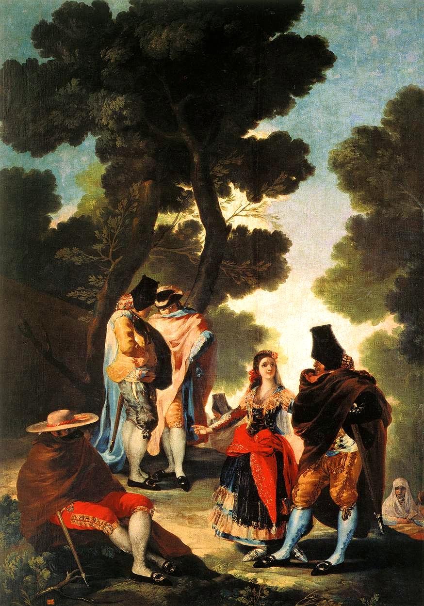 Carlos III en el Lado Oscuro The-maja-and-the-masked-men-1777