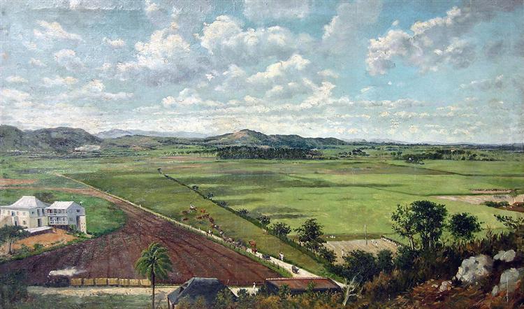 La Hacienda Buenavista en Ponce, Puerto Rico, 1840 - Francisco Oller