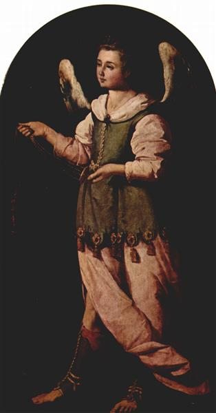 Angel with Incense - Francisco de Zurbaran