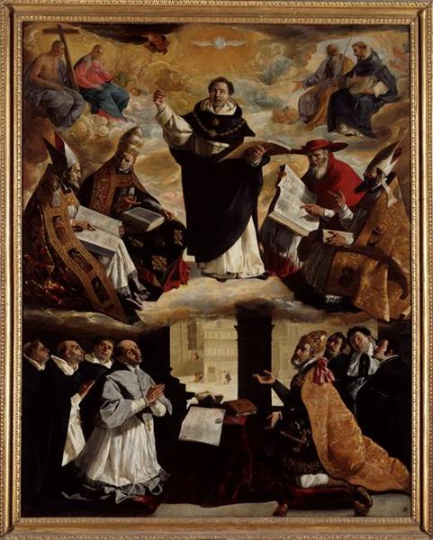 Apotheosis of St. Thomas Aquinas, 1631 - Francisco de Zurbaran