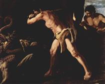 Hércules Lutando contra a Hidra de Lerna - Francisco de Zurbarán