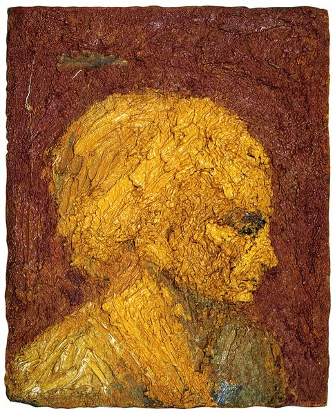 Head of E.O.W. - Frank Auerbach