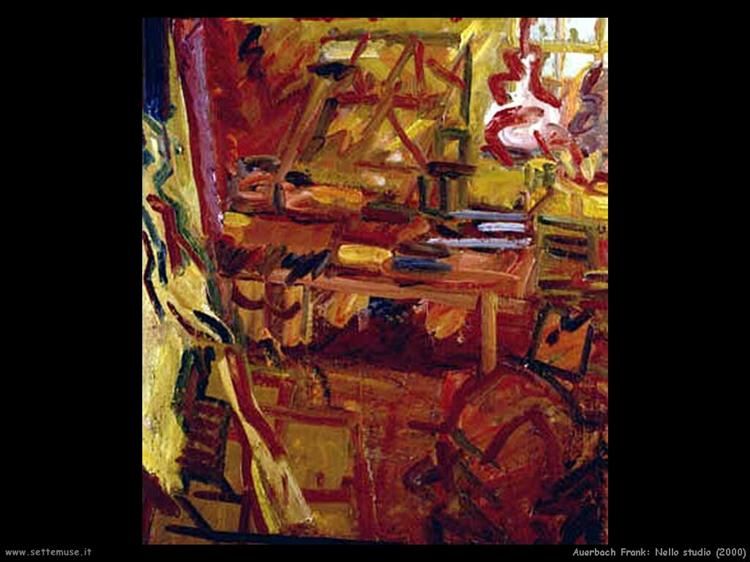 In the Studio, 2003 - Frank Auerbach