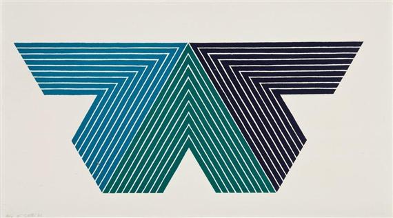 Black Adder (V Series), 1968 - Frank Stella